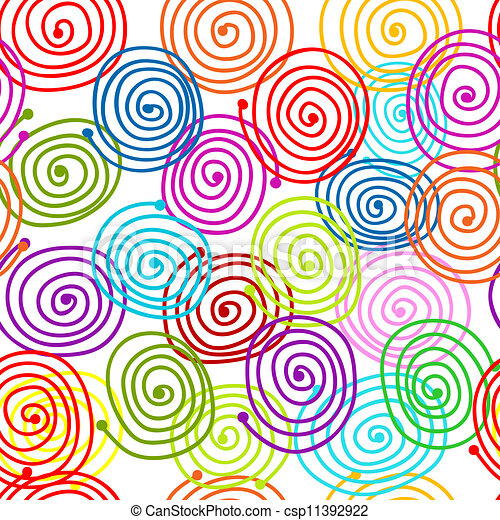 Abstract swirl pattern for your design - csp11392922