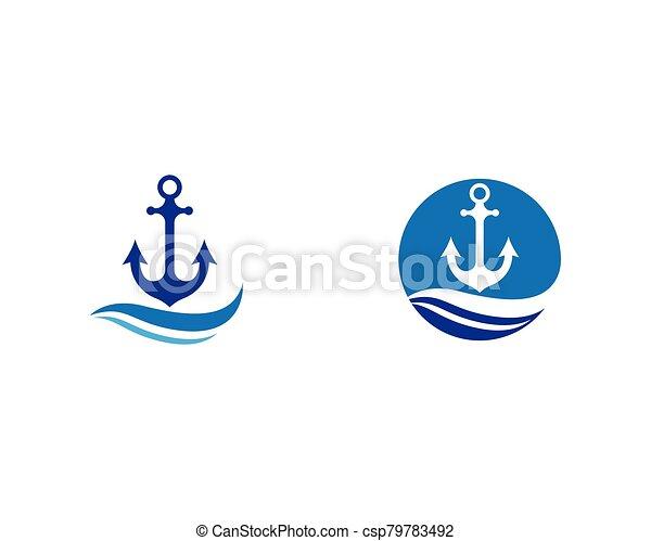 Anchor vector icon - csp79783492