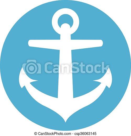 Anchor vector icon - csp36063145