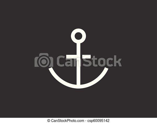 Anchor vector icon - csp60095142