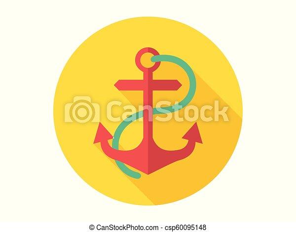 Anchor vector icon - csp60095148