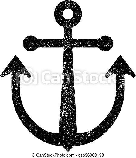 Anchor vector icon - csp36063138