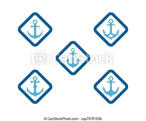 Anchor vector icon - csp79781636