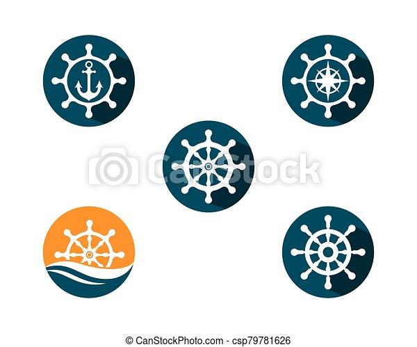 Anchor vector icon - csp79781626