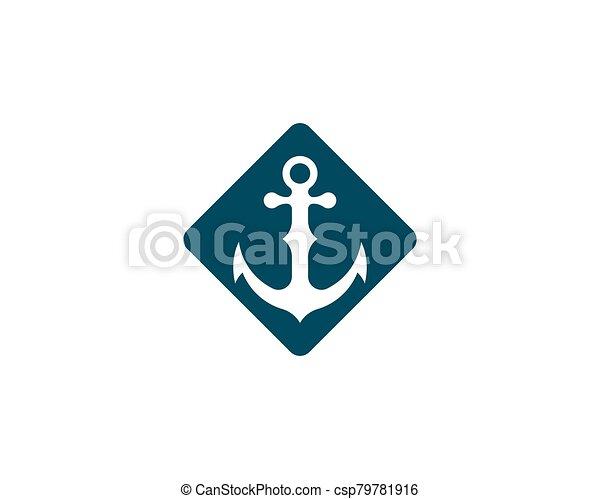 Anchor vector icon - csp79781916