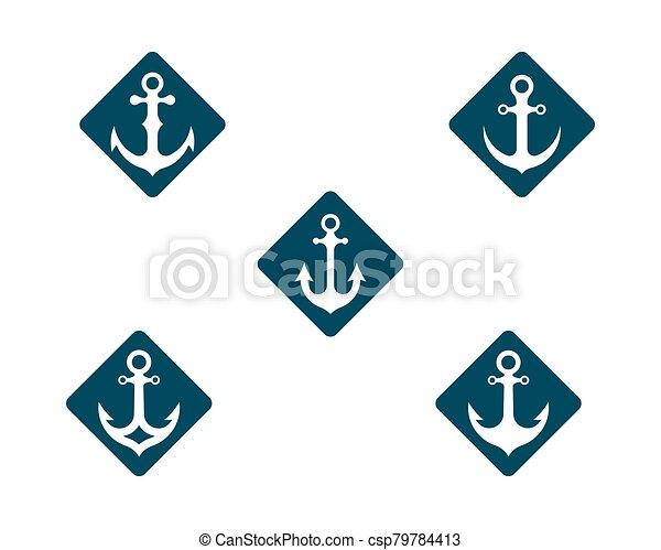 Anchor vector icon - csp79784413
