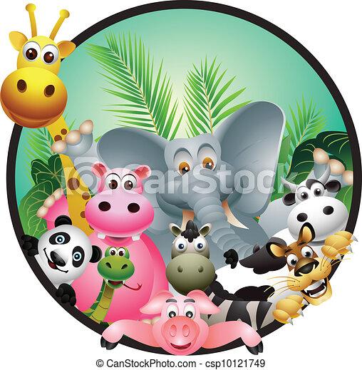 animal cartoon - csp10121749