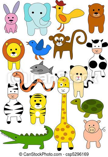 Animal doodle - csp5296169
