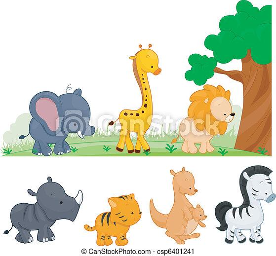 Animal Kingdom - csp6401241