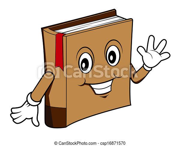 Book cartoon - csp16871570