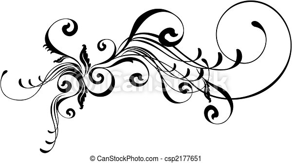caligraphic ornament - csp2177651