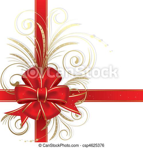 Christmas bow - csp4625376
