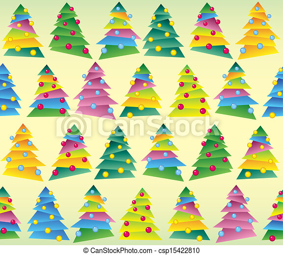 Christmas tree, wrapping - csp15422810