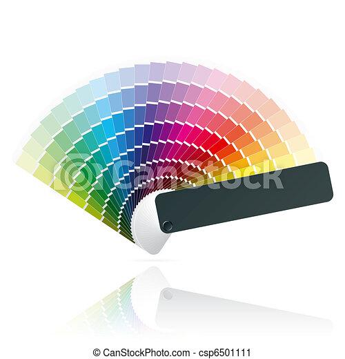 Color fan - csp6501111