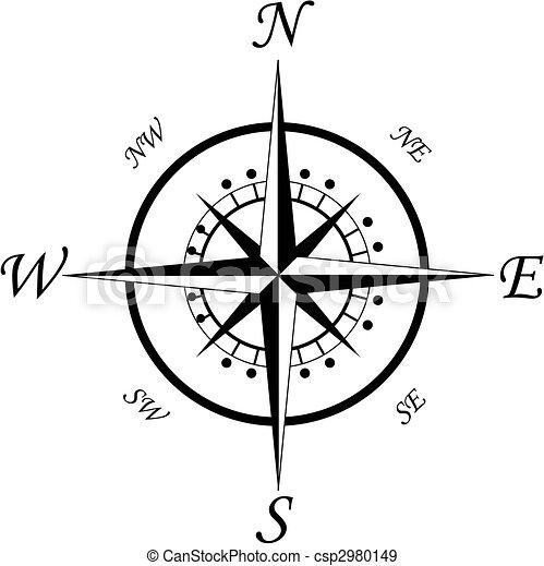 Compass symbol - csp2980149