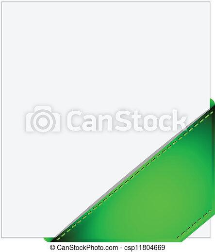 Corner ribbon - csp11804669