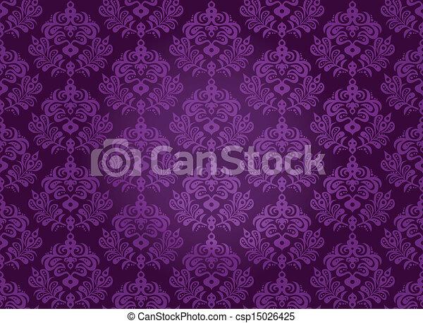 Damask seamless pattern - csp15026425
