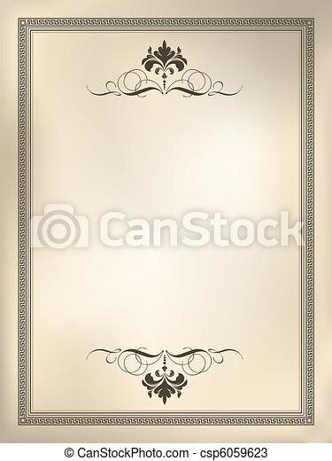 Decorative background - csp6059623