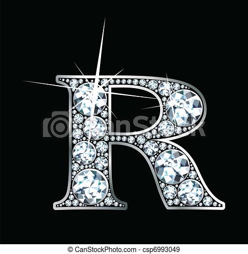 "Diamond ""R"" Vector - csp6993049"