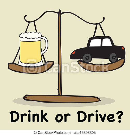 Drink or Drive - csp15393305
