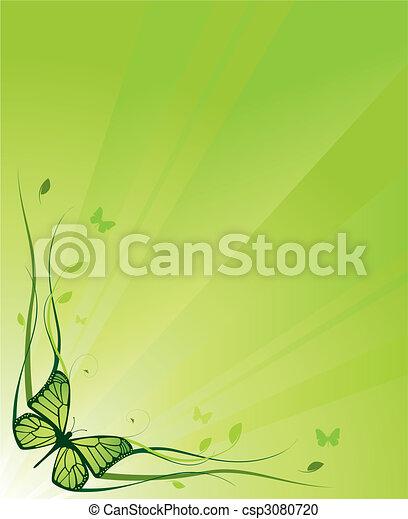 Elegant floral background - csp3080720
