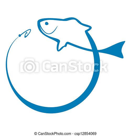 Fish sign - csp12854069