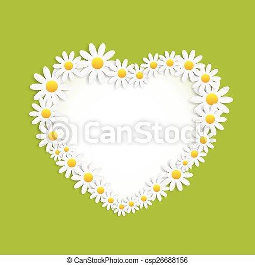 Flora Daisyl Design Vector Illustartion - csp26688156