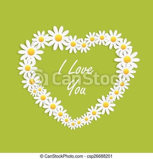 Flora Daisyl Design Vector Illustartion - csp26688201