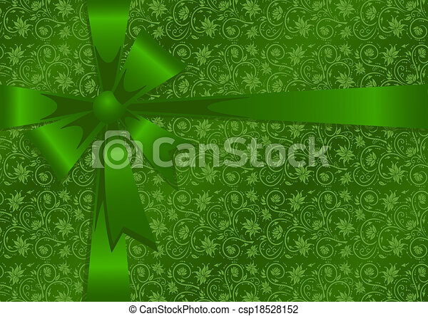 Gift wrapping - csp18528152