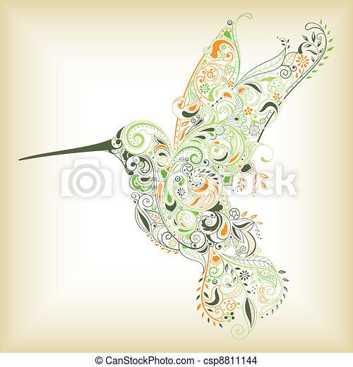 Humming Bird - csp8811144