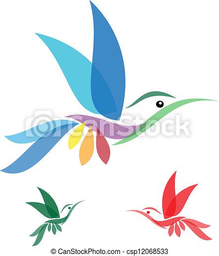 humming bird - csp12068533