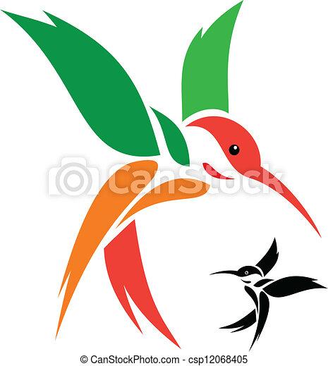 humming bird - csp12068405