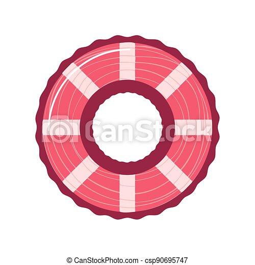 lifebuoy maritime icon - csp90695747