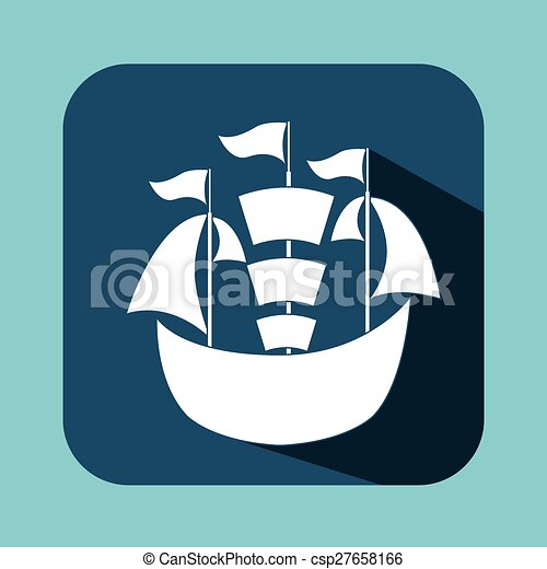 maritime icon - csp27658166