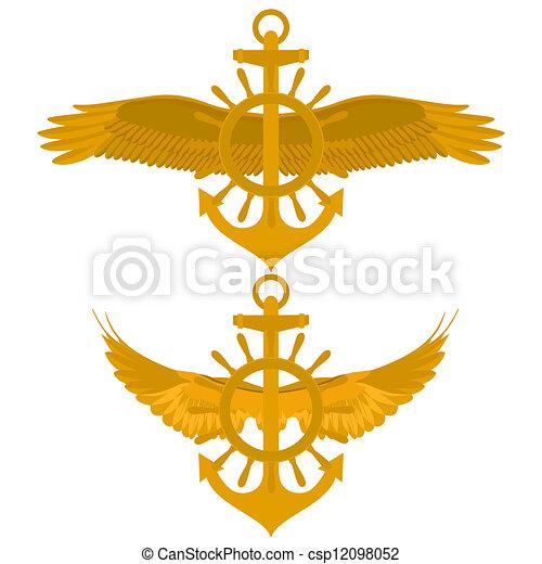 Maritime icon - csp12098052
