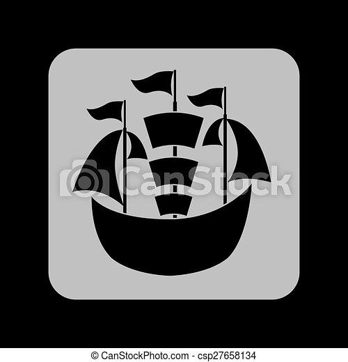 maritime icon - csp27658134