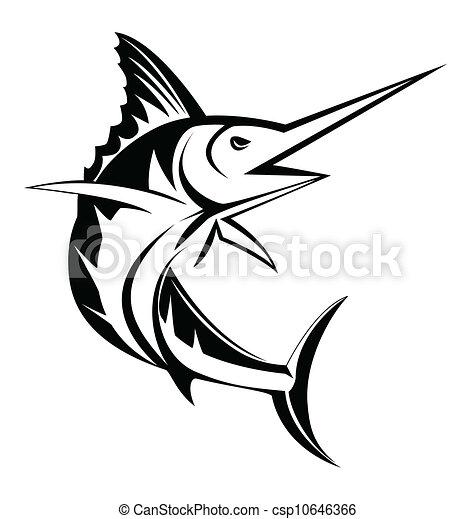 marlin fish - csp10646366