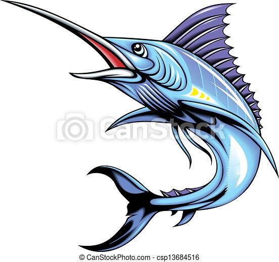 marlin fish - csp13684516