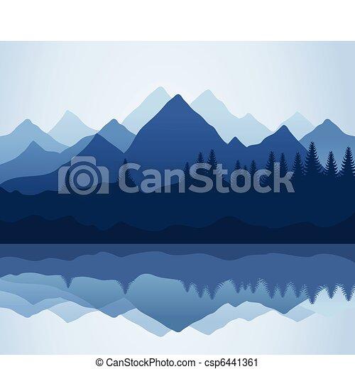 Mountain - csp6441361