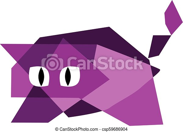 Quirky Kitty - csp59686904