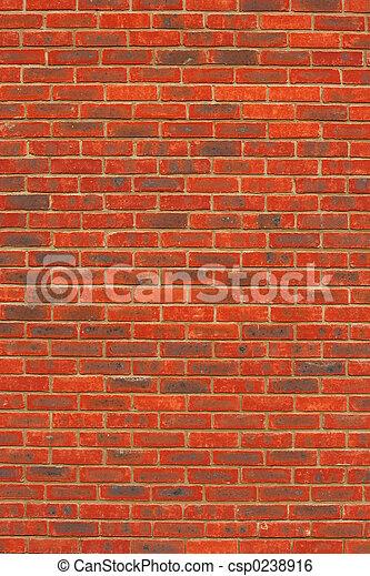 Red Brick Texture - csp0238916