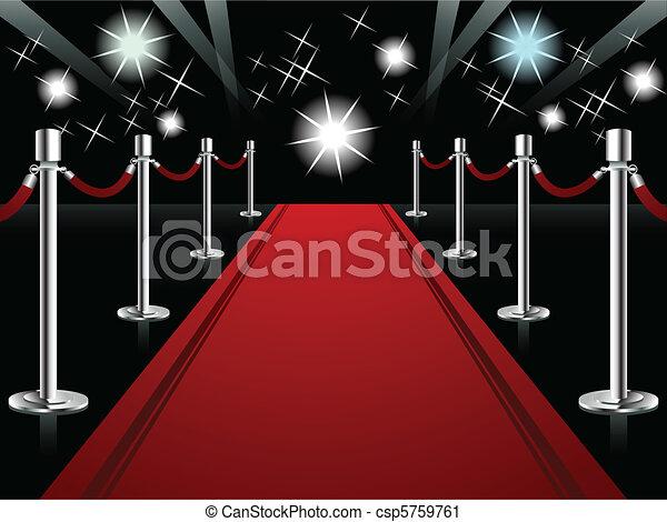Red Carpet - csp5759761