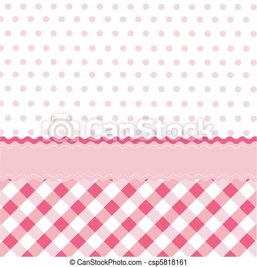 seamless baby girl pattern, wallpap - csp5818161