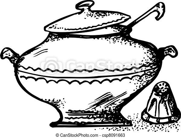Soup pot - csp8091663