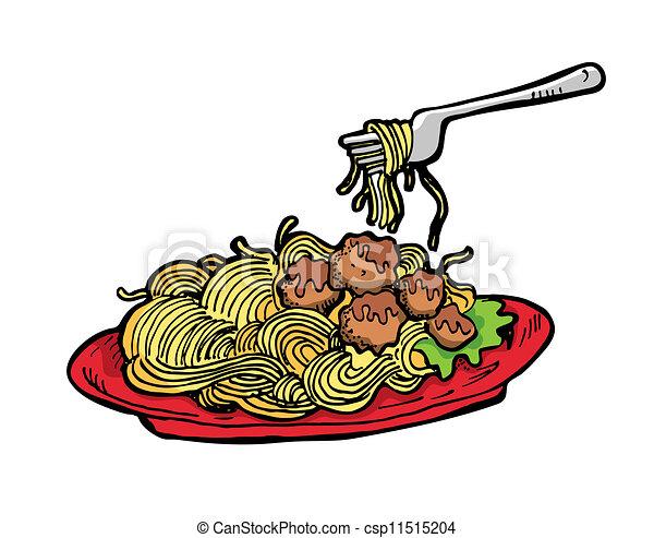 spaghetti - csp11515204