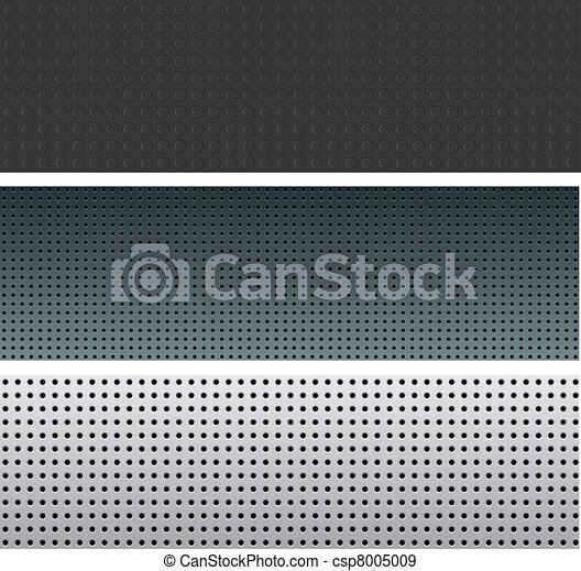 Textured pattern set. - csp8005009