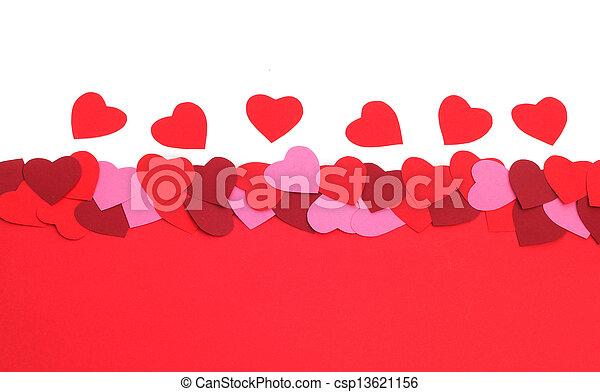 Valentines Day background - csp13621156