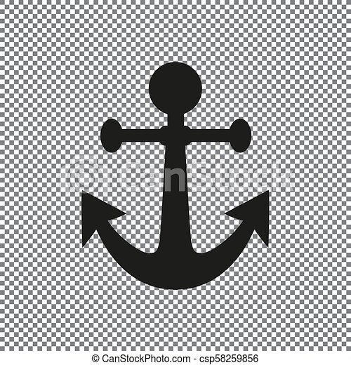 Vector icon anchor - csp58259856
