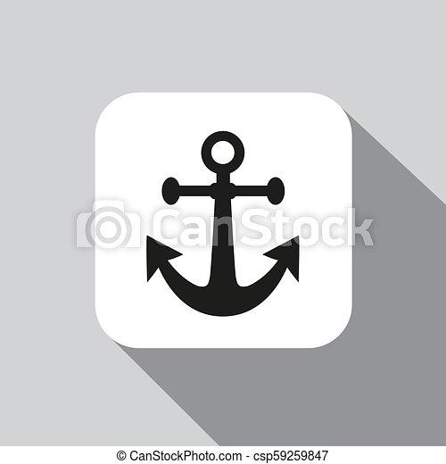 Vector icon anchor - csp59259847