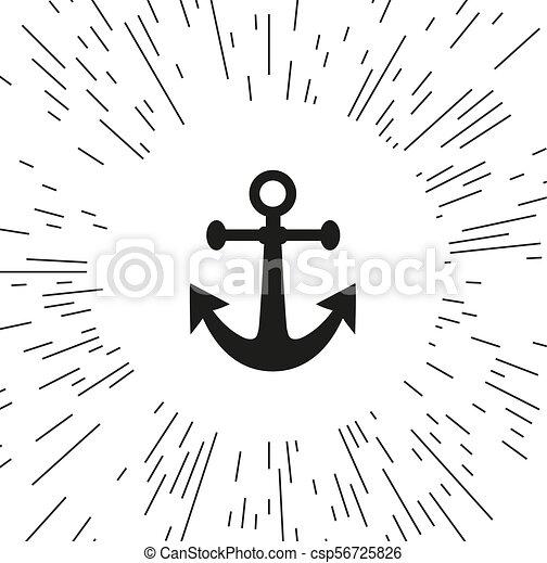 Vector icon anchor - csp56725826
